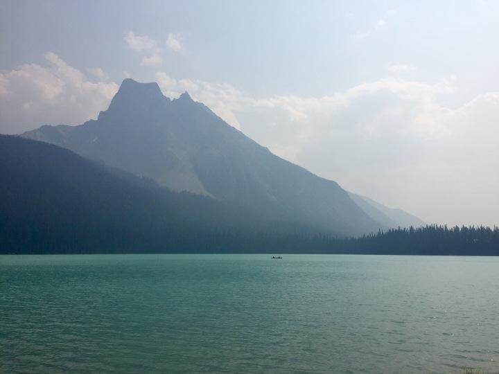 On this day: Emerald Lake, British Columbia,Canada
