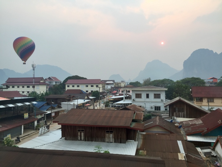 Sizzling in Vang Vieng