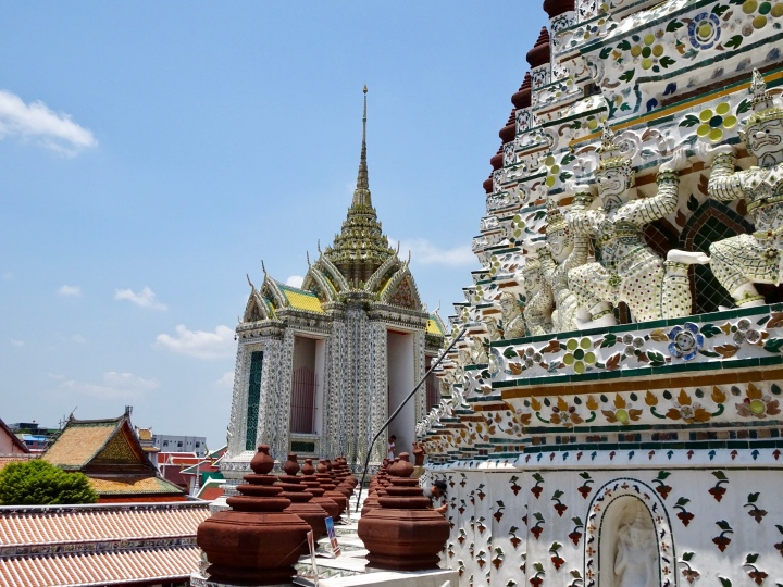 Boats, temples, and trains in Bangkok