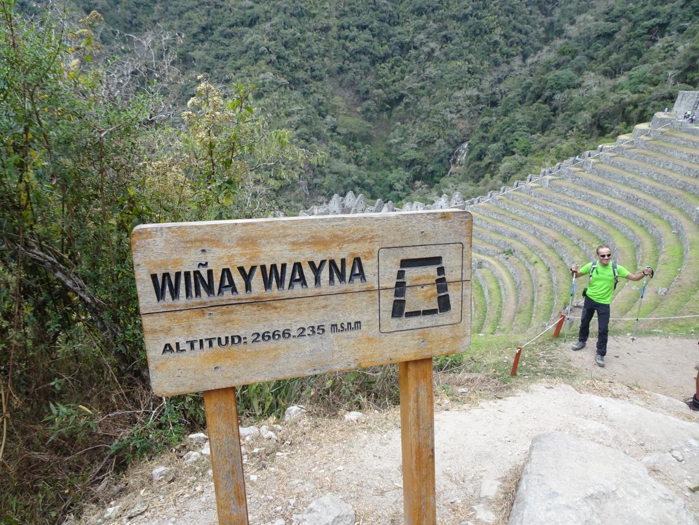 Inca Trail Machu Picchu Winaywayna