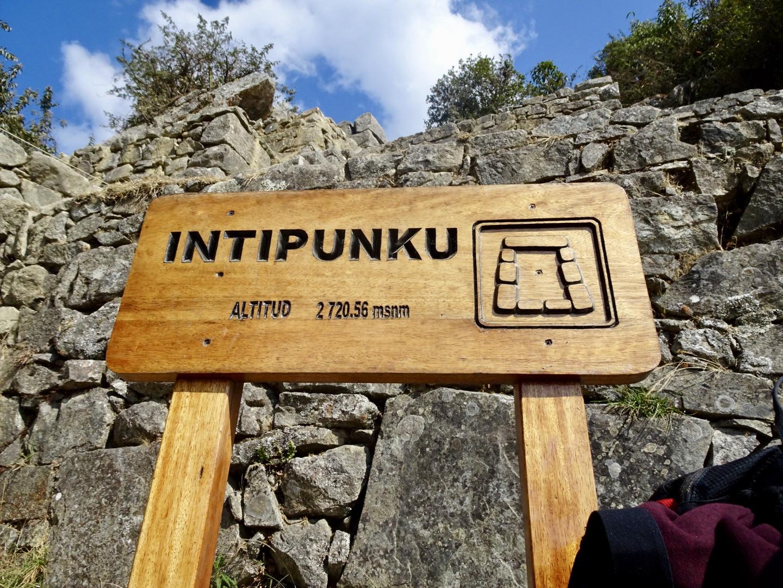 Inca Trail Machu Picchu Sun Gate Intipunku