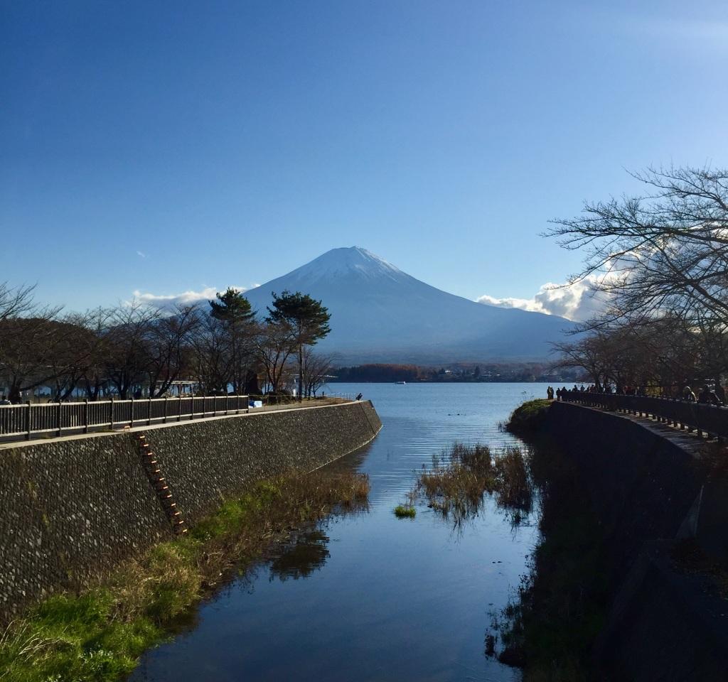 Mount Fuji on Lake Kawaguchiko