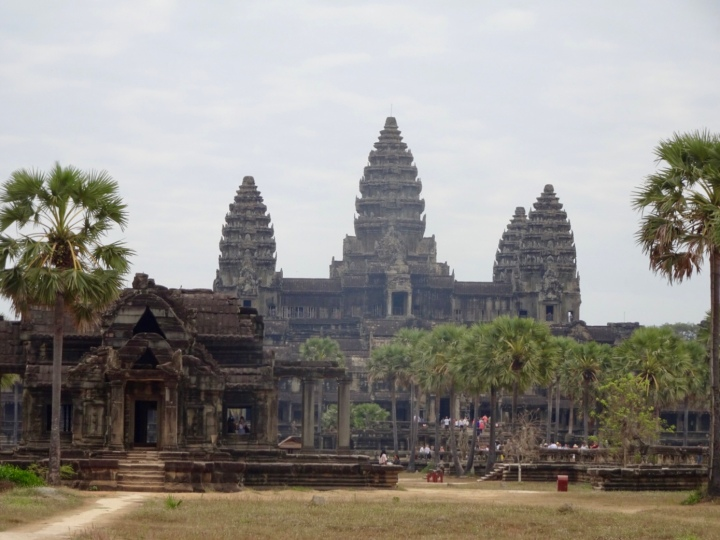 The one with all the Angkor temples