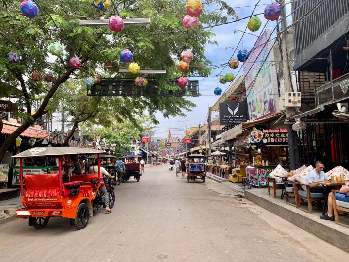 Food adventures in Siem Reap,Cambodia