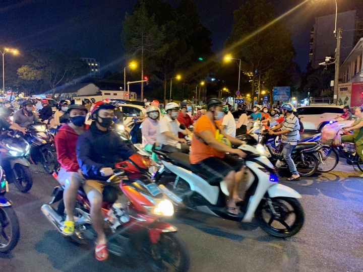 The streets and food of Ho Chi MinhCity