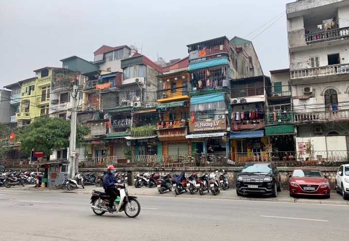 History lessons and food of Hanoi