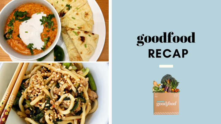 Goodfood recap: Coconut curry to Dan Dan noodles