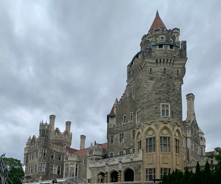 House on the hill: Casa Loma, Toronto